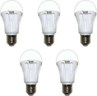 10W-E27-1000L-LED-Aluminium-Bulb-(White,-Pack-of-5)-