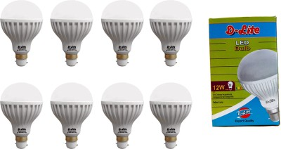 12W-White-LED-Bulbs-(Pack-Of-8)-