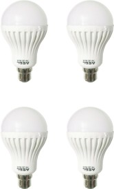 ASBL 7 W LED Bulb Cool White (pack of 4)