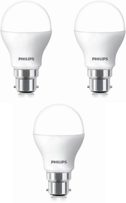 7 W LED Bulb B22 Cool Day Light White (pack of 3)