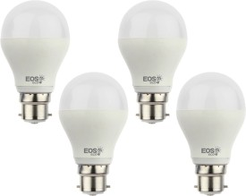 EOSeco 3W B22 LED Bulb (White, Set Of 4)
