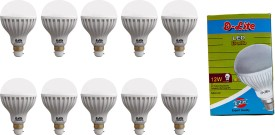 12W-White-LED-Bulbs-(Pack-Of-10)-