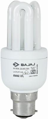Bajaj 8 W CFL Bulb Image