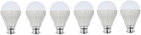 IPP 3W LED Bulbs (White, Pack of 6)