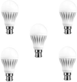 12 W LED Bulb (White, Pack of 5)
