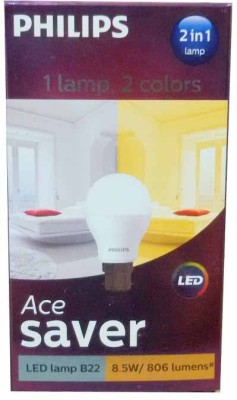 8.5W-LED-2-in-1-Color-Changing-Bulb-(pack-of-4,White,Yellow)-