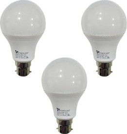 7-W-B22-PAG-LED-Bulb-(White,-Plastic,-Pack-of-3)