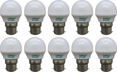 0.5 W LED Mood Night Lamp Bulb White (pack of 10)