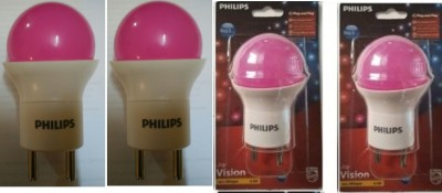 0.5-W-LED-Bulb-B22-Pink-(Pack-of-4)