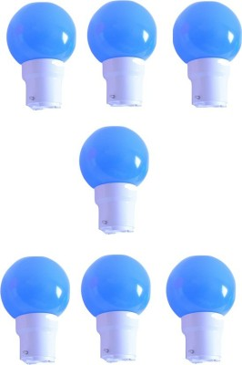 0.5W Blue LED Bulb (Pack of 7)