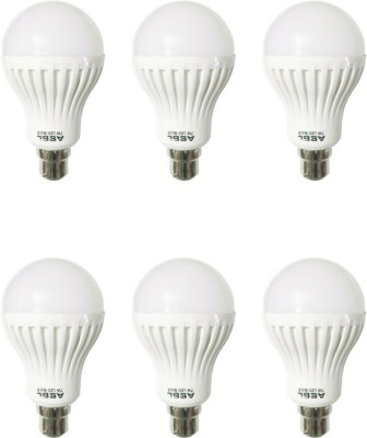 7 W LED Bulb Cool White (Pack of 6)