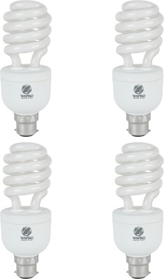 Smartlite Twister 23W CFL Bulbs (White, Pack of 4)