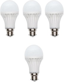 3W 400 lumens Cool Day Ligh LED Bulb (Pack Of 4)