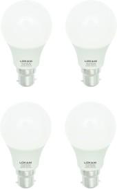 7W LED Bulbs (Warm White, Pack of 4)
