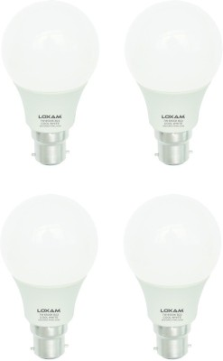 7W LED Bulbs (Warm White, Pack of 4)