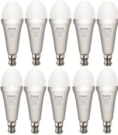 5W White Eco Led Bulbs (Pack Of 10)