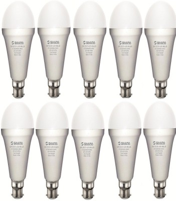 5W White Eco Led Bulbs (Pack Of 10)