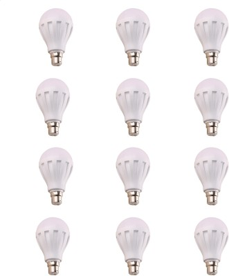 12W 460 Lumens White Eco LED Bulbs (Pack Of 12)