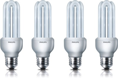 Essential-E27-18-W-CFL-Bulb-(Pack-of-4)