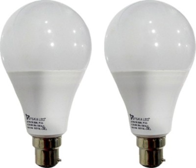 12 W B22 PAG LED Bulb (White, Pack of 2)