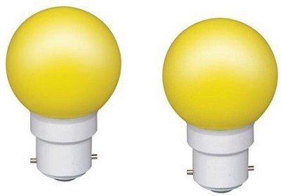 0.5W Yellow LED Bulb (Pack of 2)