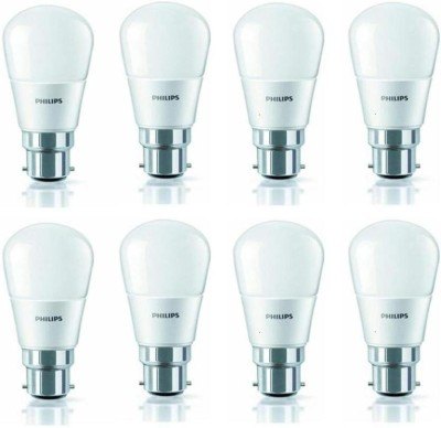 4 W 350L LED Bulb (White, Pack of 8)