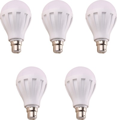 9W-460-Lumens-White-Eco-LED-Bulbs-(Pack-Of-5)