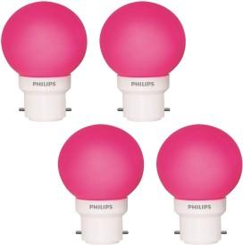 0.5 W LED Decomini Bulb Pink (pack of 4)