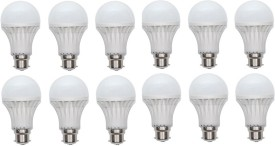 5W 400 lumens Cool Day Ligh LED Bulb (Pack Of 12)