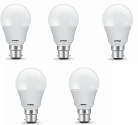 5W white Led Bulb (Pack of 5)