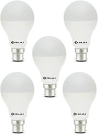 12 W LED CDL B22 HPF Bulb White (pack of 5)