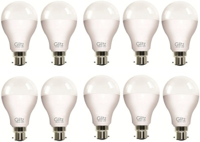 5W B22 90L LED Bulb (Cool White, Pack of 10)
