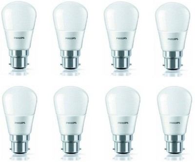 2.5 W b22 225L White LED Bulb (Pack of 8)