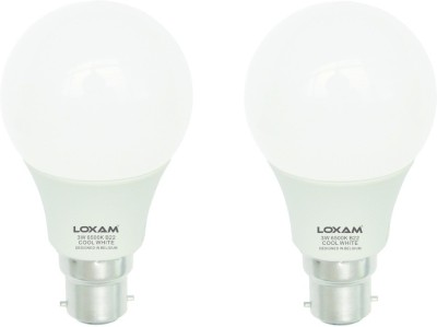 3W B22 LED Bulb (Cool White, Set of 2)