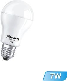 7W E27 White Led Bulb