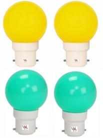 0.5W-Multicolour-LED-Light-(Pack-Of-4)
