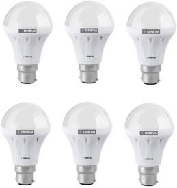 4W White LED Bulb (Pack Of 6)