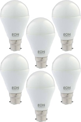 7W Dura LED White Bulb (Pack of 6)
