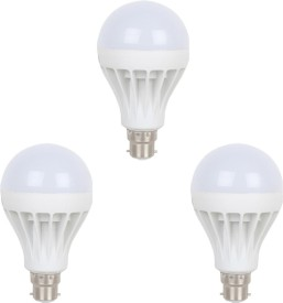 5W-B22-LED-Bulb-(White,-Set-of-3)
