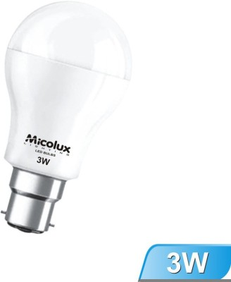 3W B22 White Led Bulb