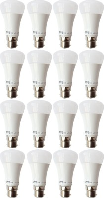 5W B22 LED Bulb (White, Set of 16)