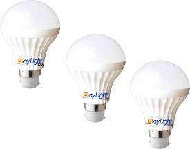 Technology 12 W B22 LED Bulb (Cool White, Pack of 3)