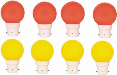 0.5W LED Light Multicolour (Pack Of 8)