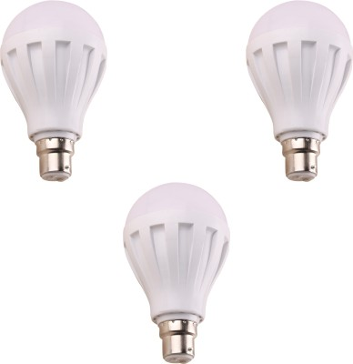7W 460 Lumens White Eco LED Bulbs (Pack Of 3)