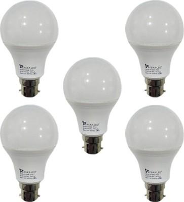 7W-B22-700L-Plastic-LED-Bulb-(White,-Pack-of-5)-