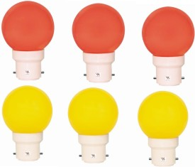 0.5W-Multicolour-LED-Light-(Pack-Of-6)