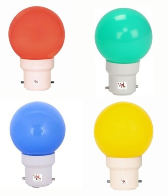 AXNB037-0.5W-LED-Light-Multicolour-(Pack-Of-4)