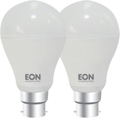 5W-Dura-B22-450L-LED-Bulb-(White,-Pack-of-2)-