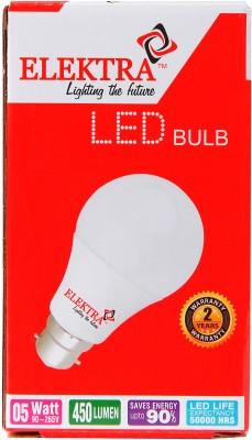 Elektra-5W-LED-Bulb-(White)