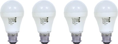9W-Aluminium-Body-White-LED-Bulb-(Pack-of-4)
